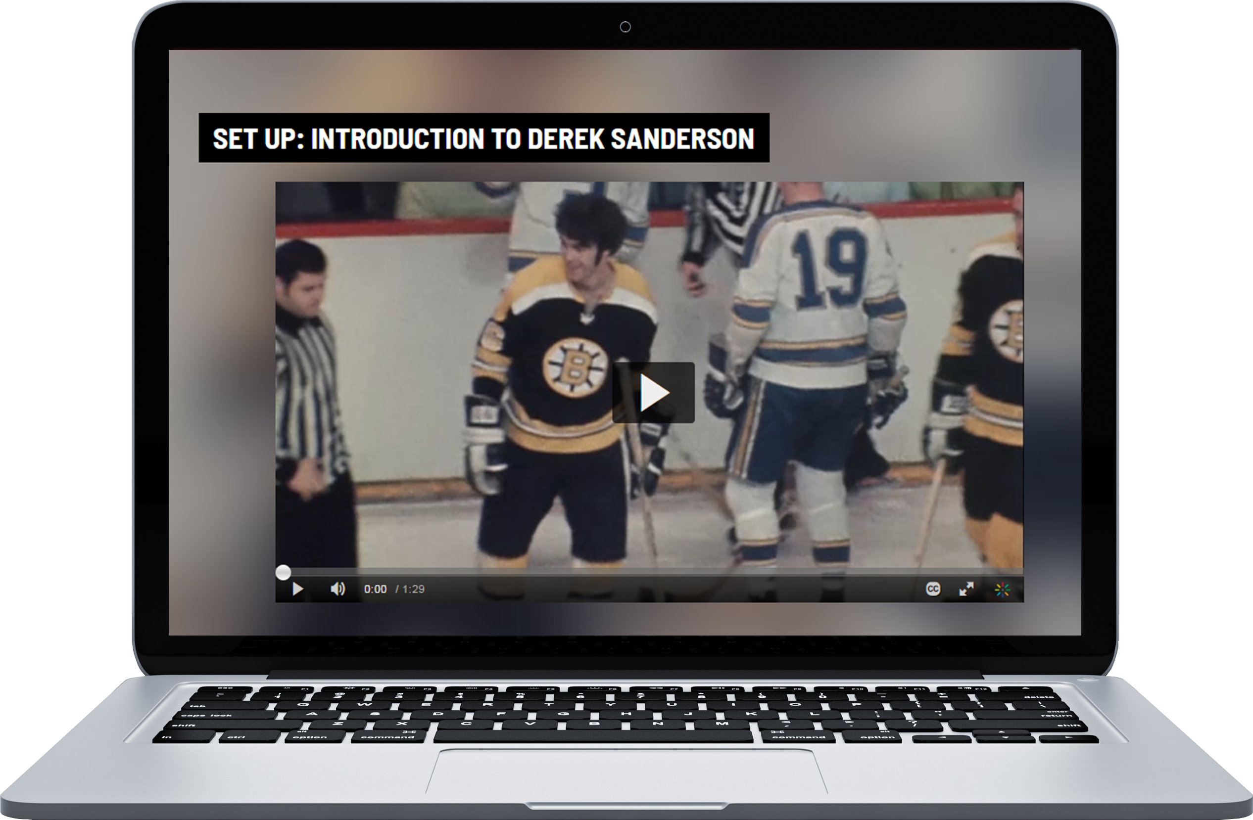Derek Sanderson Video Introduction